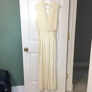 NWOT Greylin Ivory Jumpsuit
